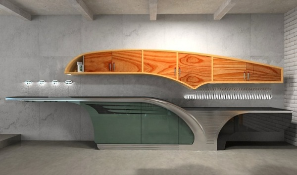 Buick-Chief - концепт кухни от Ярослава Галанта (Yaroslav Galant)