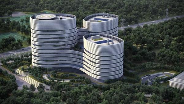 Кинетические складывающиеся фасады корейского центра CJ Cheiljedang Research and Development Center
