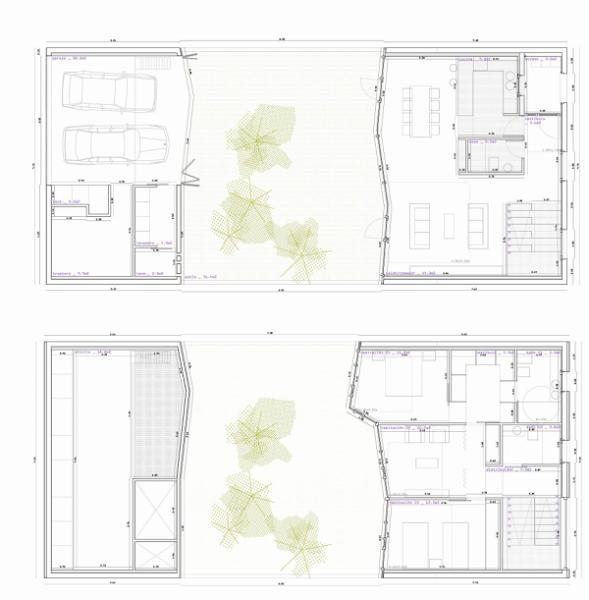 Креативная реконструкция семейного дома в Испании