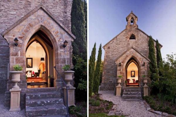 Старинная австралийская церковь, преобразованная в жилой дом