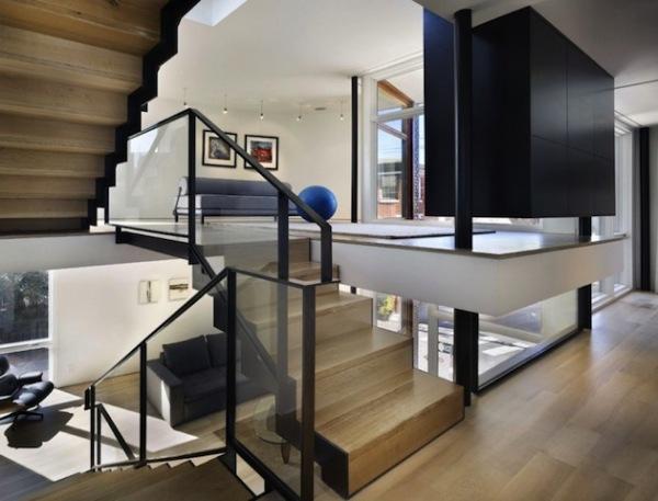 Креативная геометрия современного дома в Филадельфии