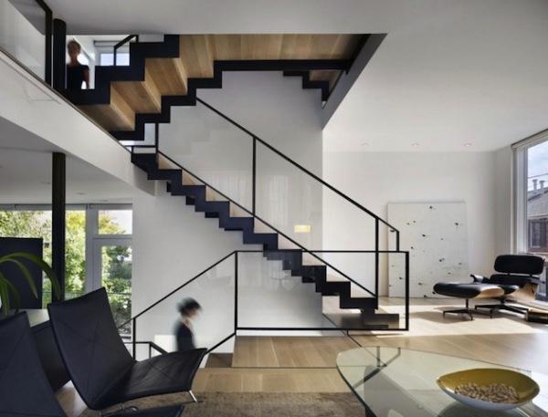 for Como hacer una escalera de madera economica