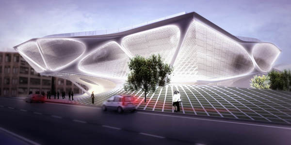 Daegu Gosan Library Proposal - ��������������� ������ ����������� ���������� �� SDA
