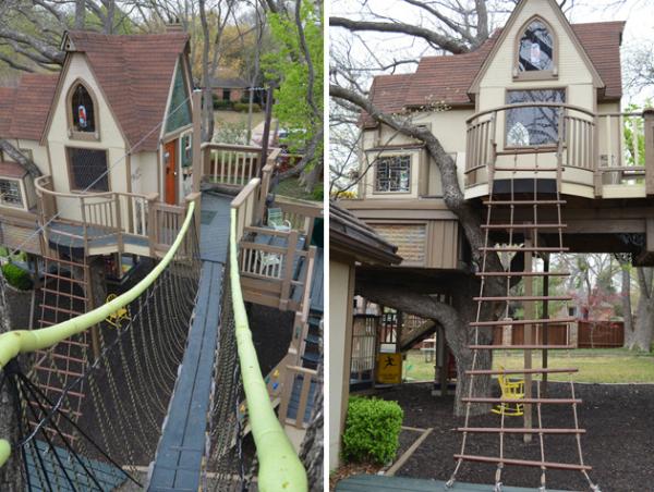 Treehouse – сказочный дом вокруг дерева в Далласе