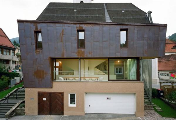 Das Aigner – дом на гаражах от Kleboth Lindinger Dollnig
