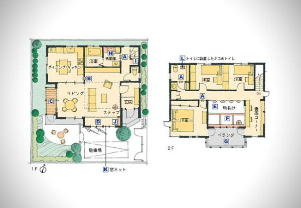 Dream Home: дом мечты для кошек и людей от Asahi Kasei
