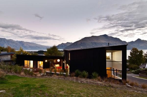 Dublin Street House: семейный дом, как часть рельефа острова в Новой Зеландии