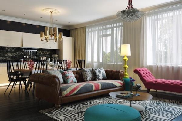 Eclectic Pop Art Residence: креативная квартира в стиле поп-арт