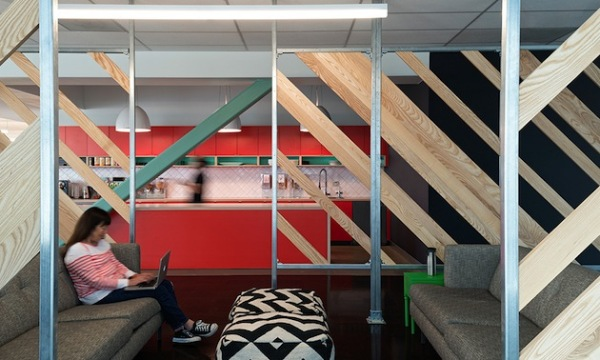 Креативный интерьер калифорнийского офиса компании Evernote