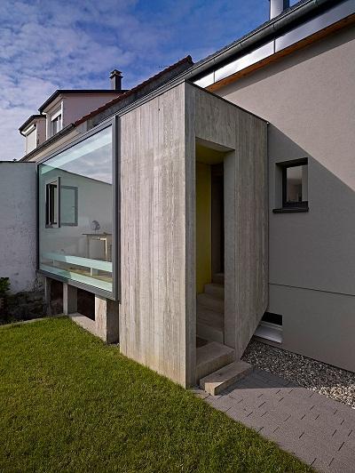 Extension C: маленькое креативное расширение традиционного дома во Франции
