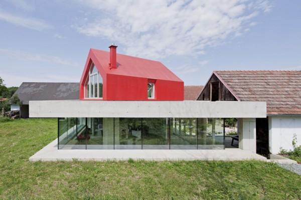 FORUM Limbach – авангардный дом на бывшем скотном дворе в Австрии