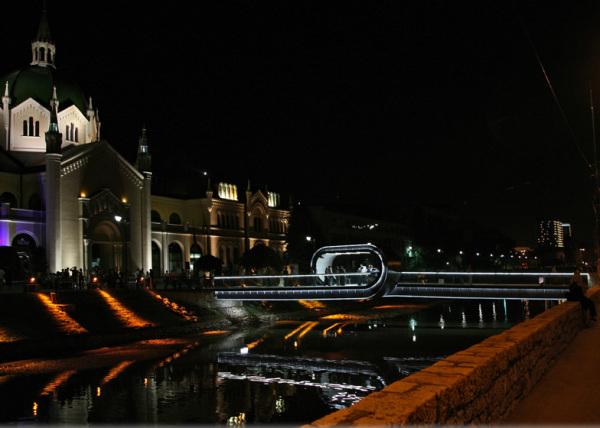 Мост Festina Lente bridge в Сараево