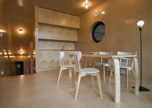 Garden House Getaway: дом-рыба от OK Plan Architects