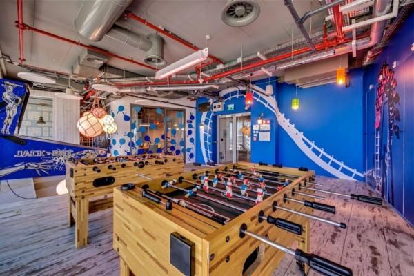 Новая штаб-квартира компании Google в Тель-Авиве