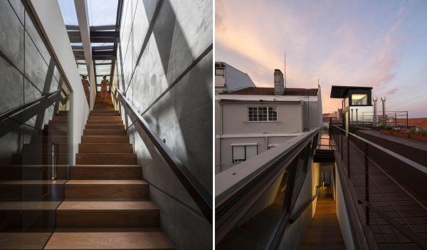 Travessa de Patrocinio – дом в «шубе» от португальских дизайнеров