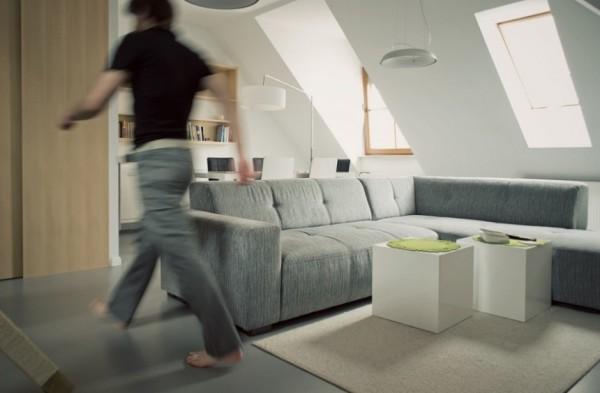 Эргономичный интерьер небольшой квартиры от Томаша Ясински (Tomasz Jasinski)