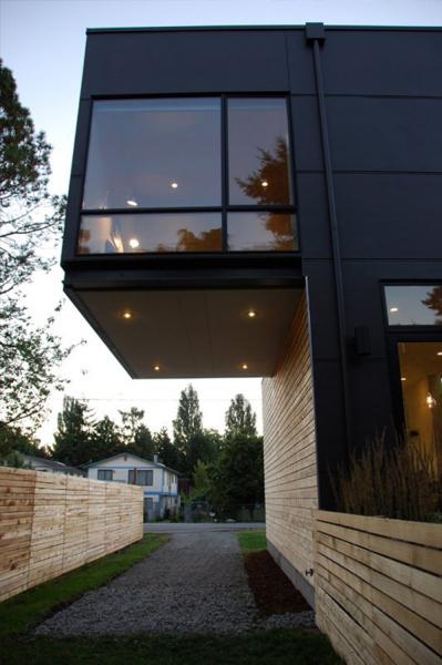 Greenwood House - компактный дом в Сиэтле