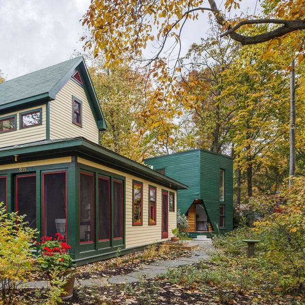 Guest House – дом писателя, вдохновленный картиной