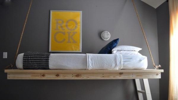 Десять способов подвесить вашу кровать. Идеи для дизайна интерьеров