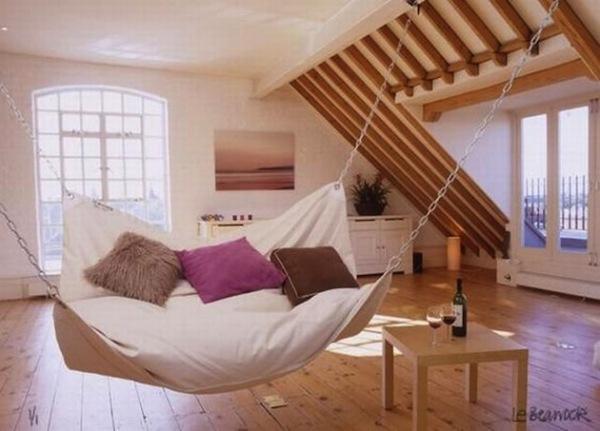 Десять способов подвесить вашу кровать.  Идеи для дизайна интерьеров.
