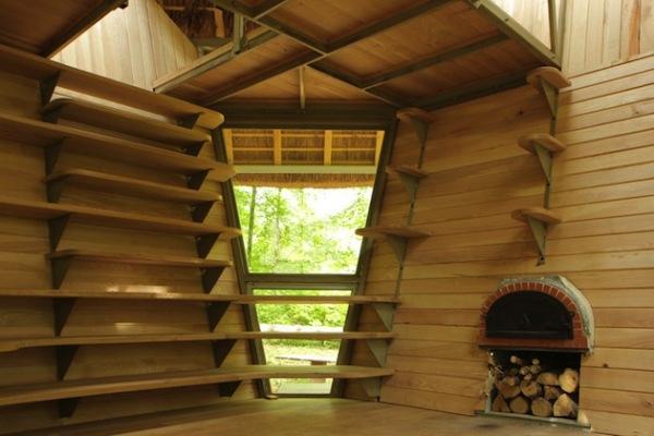 Le Nichoir и La Noisette: лесные микро-жилища от Matali Crasset