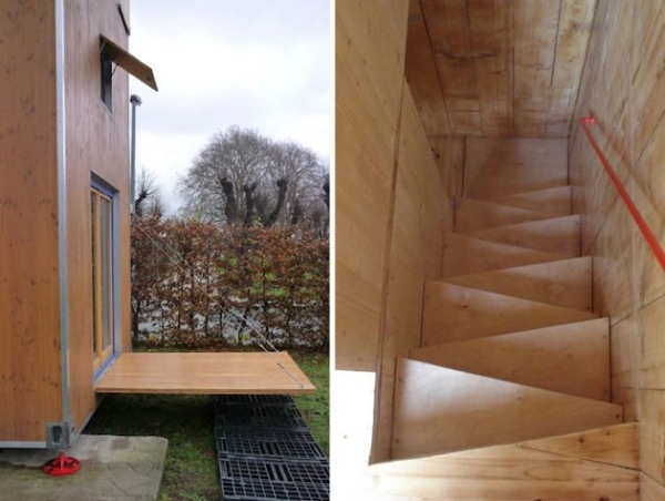 Homebox 1 – мобильное жилище от Han Slawik Architect