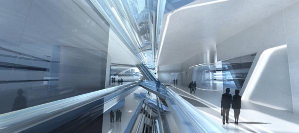 Бесшовная архитектура университета для Гонконга от Захи Хадид