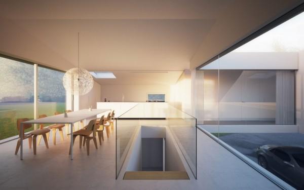House Hafner – современный деревенский дом от Jacobi Architecture