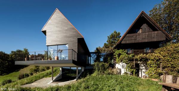 Haus Am Steinber - современная реконструкция старинного винного погреба