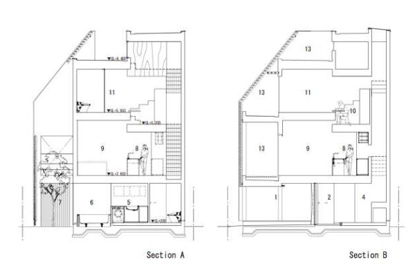 Архитектурный план для составления смет