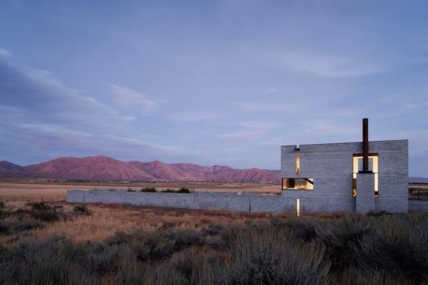 Idaho Outpost: дом художника в пустыне Айдахо