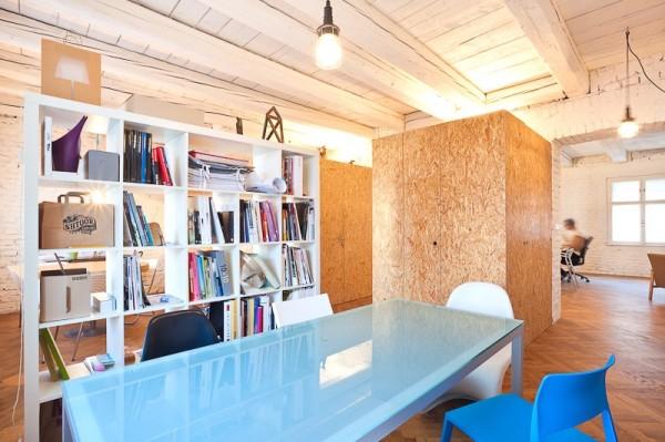 Креативный офис в помещении старой старинной в Братиславе