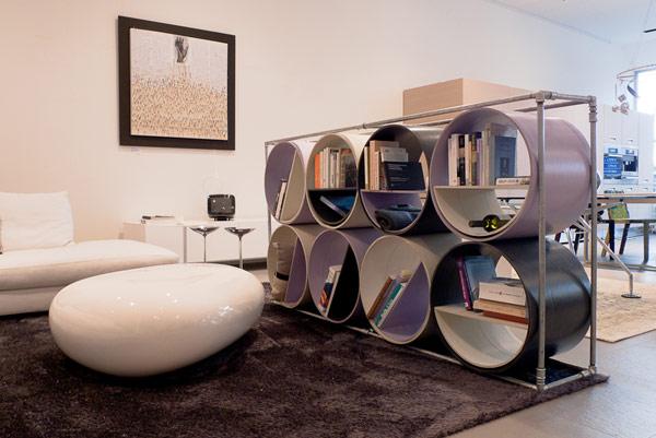 Combo – креативный эко-стеллаж от Capolinea Design