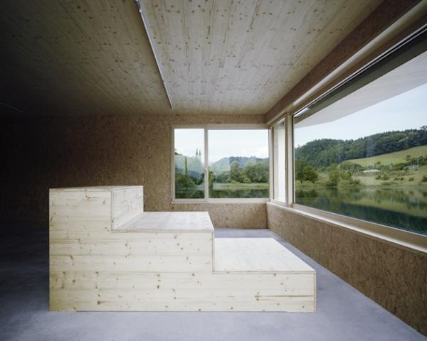 Lake Rotsee Refuge: минималистская смотровая площадка на швейцарском озере