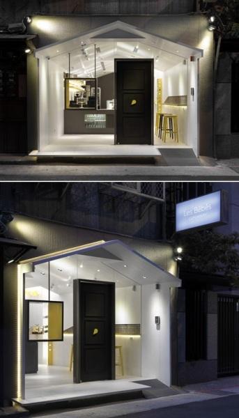 Les Bebes Cupcakery - тайваньская кондитерская от J.C. Architecture