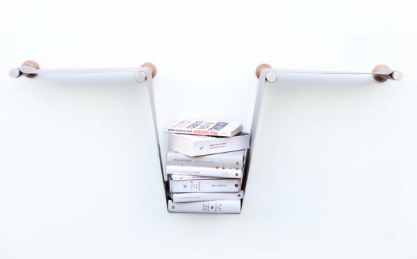Level – настенный стеллаж, вдохновленный принципом сообщающихся сосудов