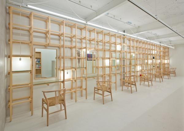 end...Link – креативный салон красоты от Yasunari Tsukada