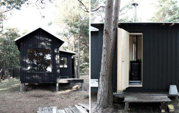 Ermitage: креативный загородный дом для молодой пары в Швеции