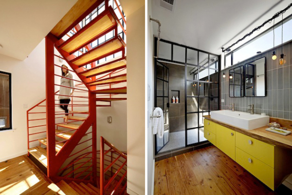 Mission Creek: плавающий дом от Robert Nebolon Architects