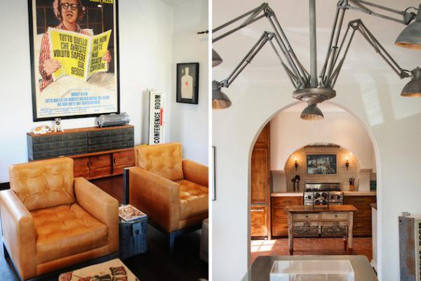 Эклектичный испанский дом в Калифорнии