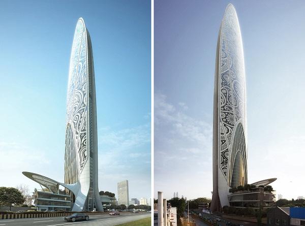 Namaste Tower – современная интерпретация индийских традиций