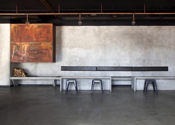 Restaurang & Bar Nazdrowje: брутальный интерьер нового ресторана в Стокгольме