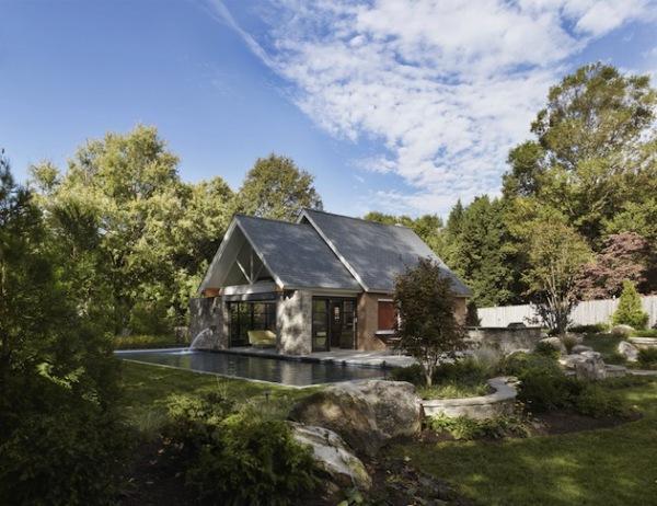 Open Plan Pool House – открытый миру дом от американских архитекторов