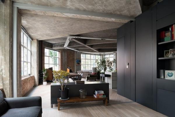 Warner House: индустриальная резиденция в центре Лондона