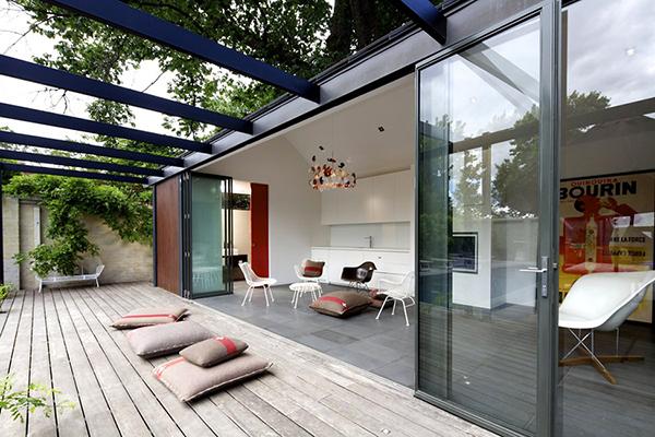 South Yarra Pool House – открытый дом от Artillery