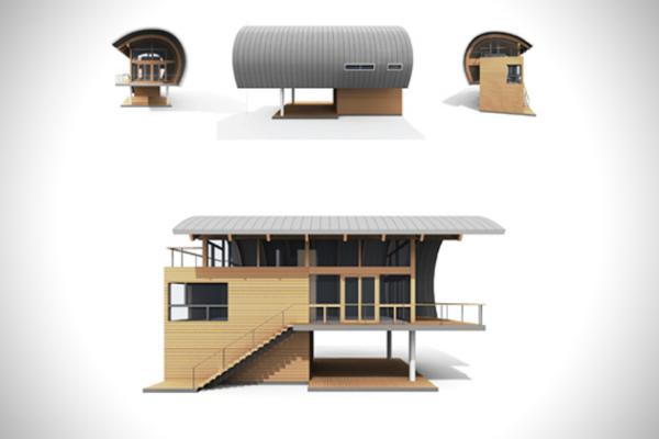 Casey Key Guest House: органическая архитектура от Sweet Sparkman