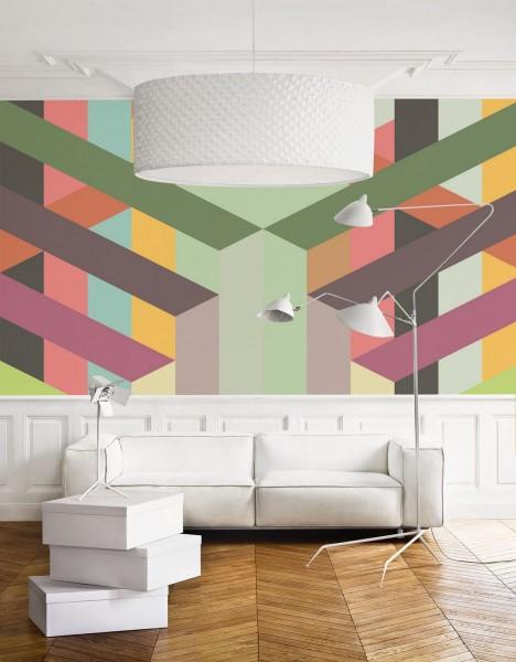 Креативные настенные фрески в
