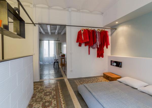 Реконструкция квартиры в готическом здании Барселоны