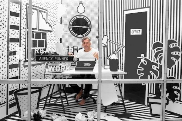 Real Life London Pop Art Office: офис-инсталляция от британских дизайнеров