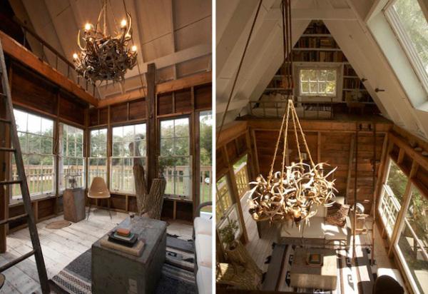 Tom's Treehouse – дом вокруг дерева в Висконсине